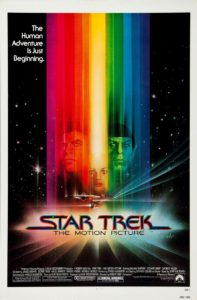 Cartel Star Trek 1 - la pelicula