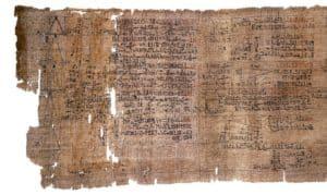 Los egipcios elaboran el primer calendario solar conocido