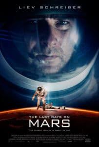 Cartel Los últimos días en Marte - año 2013