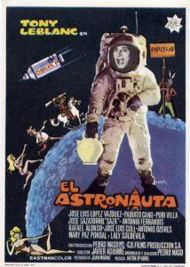 Cartel El Astronauta