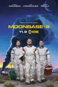 Cartel serie Moonbase 8