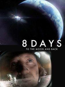 Cartel 8 días del Apolo 11