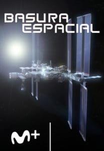 Cartel documental Basura espacial