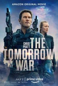 Cartel Película La Guerra Del Mañana de 2021